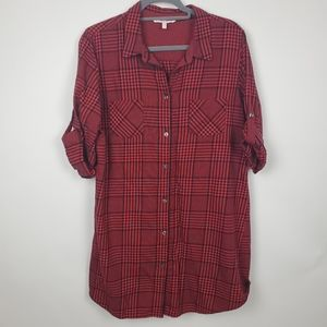 Victoria secret red plaid nightgown